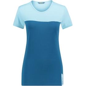 Meru Perama Naiset Lyhythihainen paita , sininen